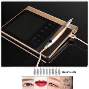 Новый стиль красоты Перманентный макияж машина татуировки Microblading Брови Вышивка цифровая машина татуировки для бровей / губ