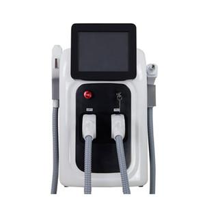Multifunktions-IPL Laser-Haarentfernung Nd-Yag Laser Tattoo Entfernung Maschine RF Face Lift-System Elight OPT SHR Hautpflege Verjüngung Schönheit