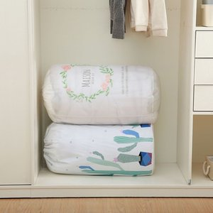 PEVA moisture-proof storage Packaging packaging quilt and clothes collection and packing moving bag household quilt bag