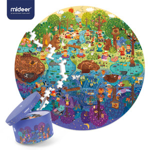 MiDeer Puzzle 150PCS Puzzles Toys Educational Toys Hand-painted Jigsaw Board Style Puzzles Box Set for Kids Gifts >3 Years Old CX200711