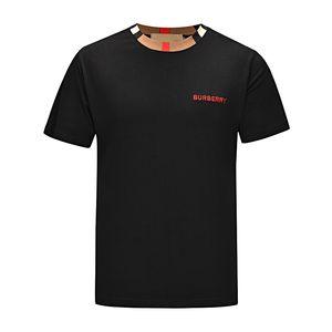 De luxe Designers T-shirts Vêtements pour hommes Marque Hauts T-shirt de mode d'été Tide Lettres Braned Imprimé Vêtements de luxe Shirt Men