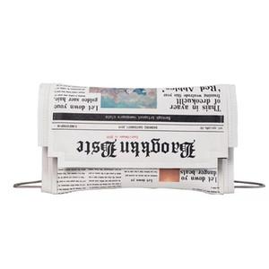 Abera Moda Giornale Stampa disegno delle donne casuali busta borsa frizioni di giorno catena borsa Crossbody Messenger Borsa a tracolla della borsa