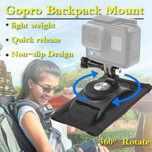360° Rotate Gopro Hero6 5 4 Backpack Mount