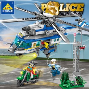 kid toys Block toy City police series children block toys gift of the kid Factory direct sale