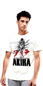 Аниме футболка Akira Neo Tokyo Мужчины белый с коротким рукавом