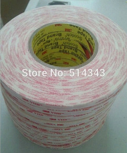 Wholesale-(10mm) double coated acrylic foam tape white 3m vhb adhesive tape 4920 , 0.4mm thickness, 33m long, 10pcs lot Cpgo#