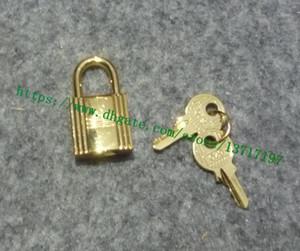 أعلى درجة H مجموعة واحدة قفل مفتاح تلميع الذهب لهجة لبركن Keally حقيبة غير القابل للصدأ المعادن شحن Alloy الحرة 0056 079