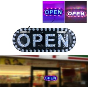 Advertising signboards led Open board LED display open sign light working for shop banner Car Motorcycle license plate lights