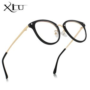 XIU Fashion PC Frame Alloy Anti Blue Light Computer Glasses Men Women Coating Film Blocking Ray from Computer Phone for Gaming