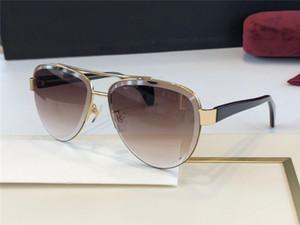 Nuovo pilota design della moda occhiali da sole 0592 struttura in metallo stile più popolare best-seller di protezione dell'obiettivo UV400 di alta qualità, stile classico