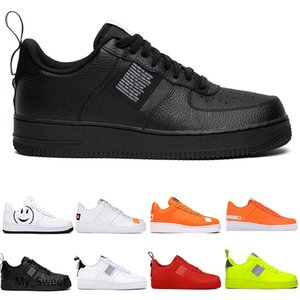 2020 New Flyline Forces Men Casual Shoes Dunk Air Cushion One Cut 1 Skateboard High Low Halloween Shadow Sport Sneakers Airs Size 36-45