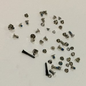 100Set lot Original New Full Screws Set with Bottom Charging Dock 5 Star Pentalobe For iPhone X Replacement Parts