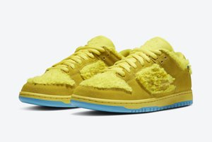 2020 SB Dunk Low ours jaune Chaussures enfants Skateboard à vendre Hommes Femmes Chaussures de sport Livraison gratuite avec la boîte Taille 36-45