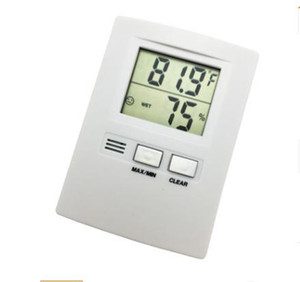 Wholesale-hot sales!New Digital LCD Display Temperature Humidity Thermometer and Hygrometer sales!New Digital LCD Display