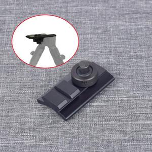 양각대 위버 레일 슬링 스터드 회전 피카 티니 슬롯 어댑터 20mm 양각대 어댑터를 촬영 전술 에어건 소총 사냥