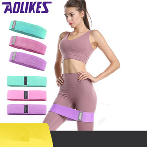 IN Stock Women's Lastic Yoga Resistance Assist Bands Gum for Fitness Equipment Exercise Band Workout Pull Rope Stretch Cross Training