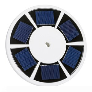10pcs solar 26 LED Flag Pole luz accionada Inicio automático de todo tipo de clima al aire libre yarda del jardín de la lámpara del reflector