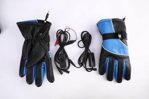 Motorrad- und Elektrofahrzeug rutschfeste Lade Motorrad electrombile warme elektrische Heizung Handschuhe Reithandschuhe Heizung
