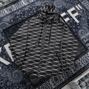 son büyük boy mektup şerit baskı kaliteli sweate rahat nefes pamuk gevşek ceket 2020 İtalyan yüksek moda ilkbahar yaz