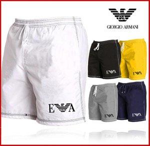 2020 Mens Shorts Designer Mens Summer Fashion Beach Pants Mens Shark Print Cotton High Quality Short arma̴ni