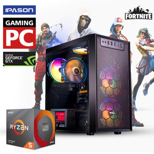 RYZEN5 2600 GTX1650 PC GAMING AMD 3.9GHz GTX1650 4GB Tarjeta gráfica, 120 GB SSD, Memoria de 8 GB, Windows 10, computadora de escritorio