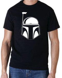 Фетт Film De Science-Fiction T-Shirt Men майка Топы хлопка с коротким рукавом Фитнес футболки