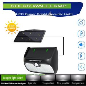 Solar Light Outdoor 3 mode Solar Lamp Waterproof Solar Powered Sunlight for Garden PIR Motion Sensor Wall Light