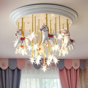 Children's Room Eye Protection led Lights For Room Bedroom Ceiling Lights Fixtures Celebrity Pegasus Star led Ceiling Lamps For Living Room
