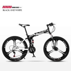 24 speed-24 26 inch Mountain bicycle adult variable speed integrated wheel double shock absorption student bicycle