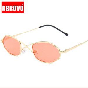 RBROVO Малый ретро очки женщин Винтажные солнцезащитные очки женщин очки для женщин / мужчин Зеркало Feminino