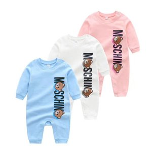 bebé al por mayor al por menor Ropa para Niños recién nacido ONESIES 100% algodón estampado mono de una sola pieza del mono de los niños onesies infantiles toddle
