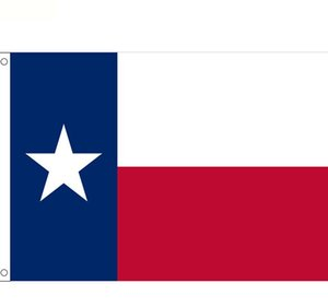 90*150cm Texas State Flag Texas State Flags Polyester with Brass Grommets usa State flag banner LJJK2388