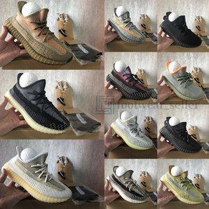 yeezy boost 350 Avec boîte Oreo Israfil Cinder Desert Sage Asriel Linen réfléchissant Kanye West Hommes Chaussures de course Baskets femme sport Chaussures de sport Big Taille 13