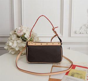 Модельер Роскошные сумки Кошельки Mini Черный и белый Триколор VINTAGE Сумка Женщины Марка Классический стиль натуральная кожа сумки на ремне