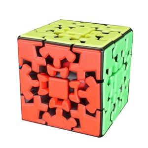 نادي 3X3 جير لغز تويست مكعب المهنية لعب لعبة غريبة الشكل لغز مكعب لعبة المنطق ألعاب غريبة الشكل تويست الحكمة