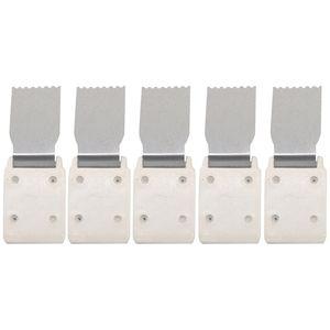 형제 실버 리드 싱어 편직 기계 DIY 수제 바느질 도구에 대한 5PCS 편직 기계 액세서리 클로 무게 액세서리