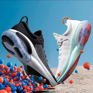2019 Mulheres Homens Joyride Run FK malha Running Shoes Universidade White Sail Red Triple Preto Bleached Coral sapatos de corrida Formadores Sneakers
