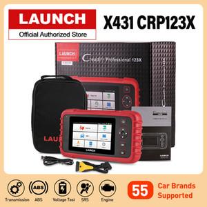 새로운 시작 X431 CRP123X OBD2 자동차 스캐너 자동차 진단 도구 개의 시스템 CRP123 PK Creader VII + CRP123E 업그레이드