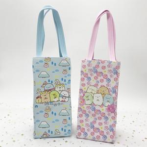 Cartoon corner PU kettle thermos Umbrella handbag bottle umbrella bag waterproof outdoor handbag