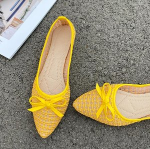 2020 summer new net red shallow mouth pointed toe hollow breathable flat shoes comfortable foot casual women's shoes