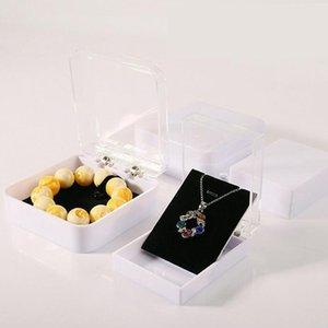 High Quality Acrylic Jewelry Display Bracelet Pendant Box Transparent White Bracelet Packaging Free Shipping Wholesale ZA5623