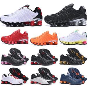 Nike Shox Tl Chaussures Shox Tl OG R4 Triple Black Männer Frauen Laufschuhe Plattform 301 Sunrise Lime Blast Herren Trainer Sportschuhe Turnschuhe