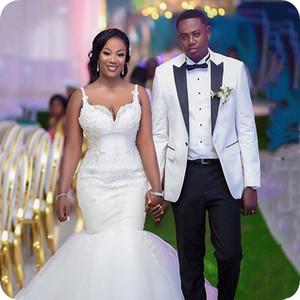 Mens Suit White Wedding Suits For Man Dress Formal Bridegroom Custom Made Slim Fit Groom Tuxedos Blazer Best Prom Mens Jacket High Quality