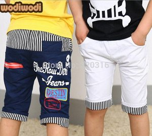 Wholesale 2015 Spring Hot Saling Droping Saling Brand Boys Childrens Middle Short 100`140cm Kids Short KKZ08A03 mEIP#