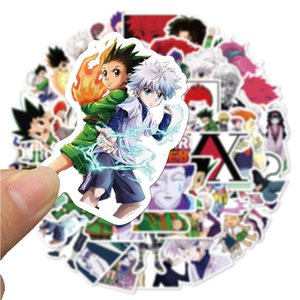 50 PCS Mixed Car Stickers Japan Popular Anime For Skateboard Laptop Helmet Pad Bicycle Bike Motorcycle PS4 Notebook Guitar PVC Fridge Decal