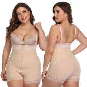 بالاضافة الى حجم Bodyshaper البطن المشكل بات الرافع الفخذ أنحل المرأة كاري الأرداف حزام رفع الورك المشكل الجسم الأسود S-6XL