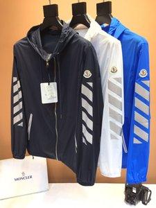 2020 M mens designer jackets windbreaker summer luxury mens hoodie long Sleeves hot sale fashion windbreaker