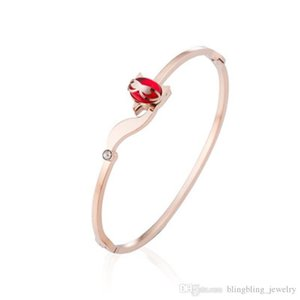Rose Gold Bracelet Women Europe And The United States Version Of The Simple Student Network Red Fox Swan Bracelet Fashion Bracelet Wholesale