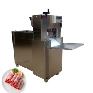 Hot sale electric meat cutter automatic lamb cutting machine CNC double-cut lamb roll machine kitchen tool 110V 220V