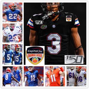 Personalizzato Florida Gators College Football cucita Jersey Tim Tebow Aaron Hernandez Emmitt Smith Josh Hammond uomini donne maglie giovanili